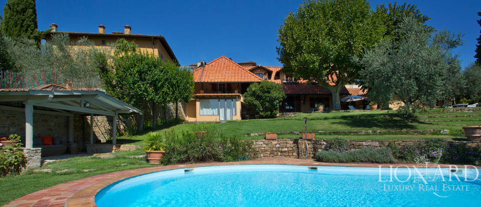 luxury home with pool for sale in the hills of florence