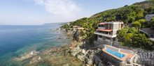 luxury villa by the sea in castiglioncello