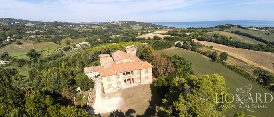 historic luxury villa in the marche