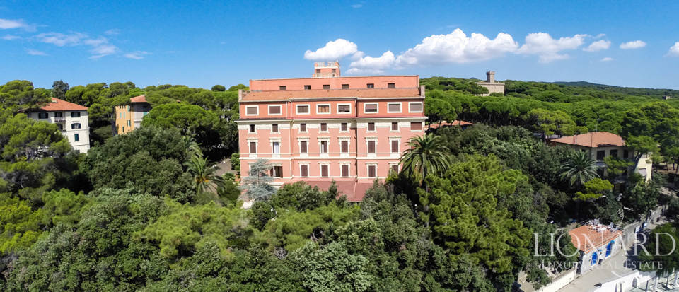 Famous Luxury Hotel for Sale in Castiglioncello Image 1