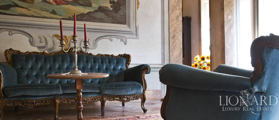 Historic villas for sale in Tuscany Image 53