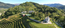 luxury villa with agricultural company for sale in udine