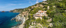 magnificent seaside villa in mount argentario