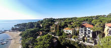 luxurious seaside hotel in castiglioncello