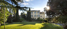 magnificent period villa for sale in camaiore