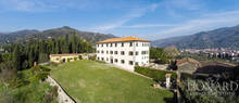 17th century luxury villa for sale in pistoia