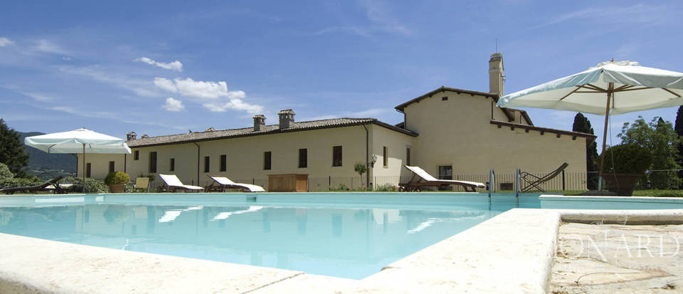 magnificent luxury residence in umbria