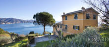 luxury villa on the sea in liguria