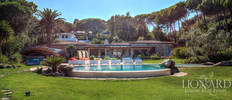 magnificent villa with pool for sale on elba