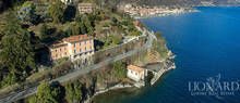 magnificent lake front villa for sale in piedmont