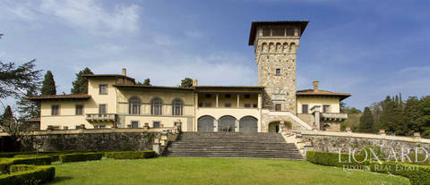 magnificent luxury villa for sale near florence