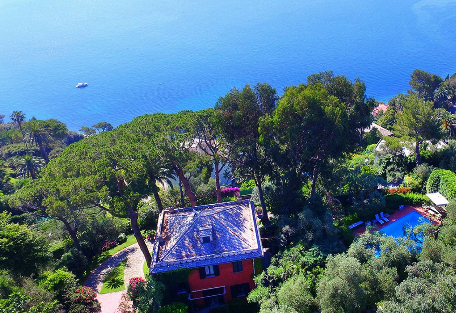 Luxusvilla in Portofino