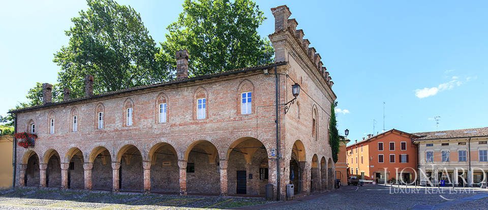 historical palace for sale in the parma area