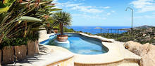 splendid sea view villa in costa smeralda