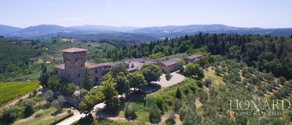 Medieval castle for sale on the hills near Florence Image 9