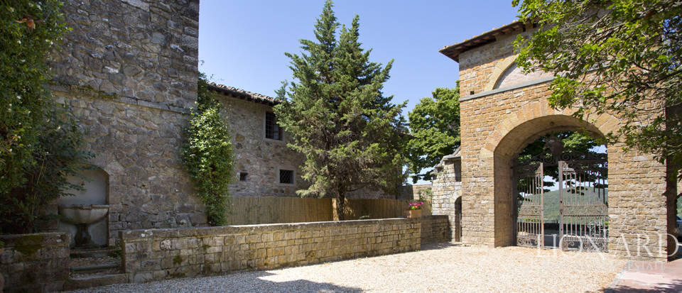 Medieval castle for sale on the hills near Florence Image 25