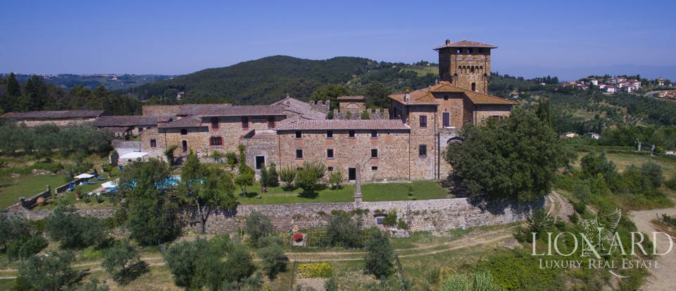 magnificent castle for sale in florence