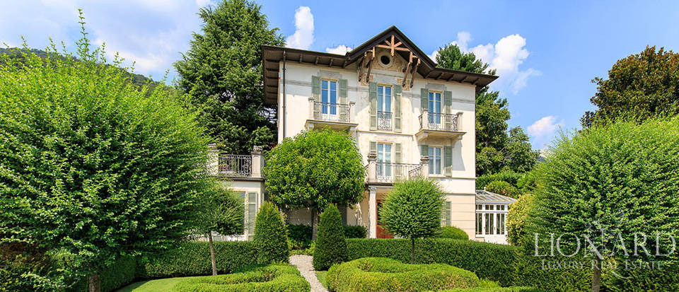 charming period villa on lake como