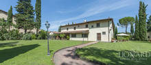 elegant villa for sale near florence