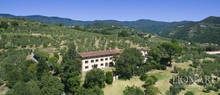 ancient countryside villa on the hills near pistoia
