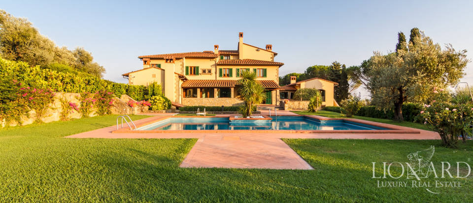 luxury villa surrounded by pistoia hills