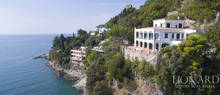 splendid sea front luxury villa salernas