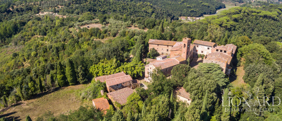 Lovely luxury property with vineyards for sale in Pisa Image 4
