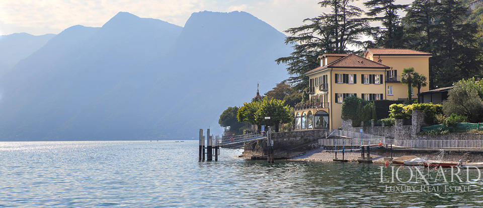 Lovely luxury villa for sale on Lake Como Image 1