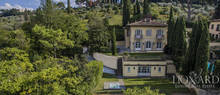 elegant villa with a view over florence