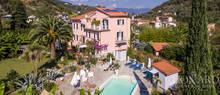 luxury resort with swimming pool for sale in lerici