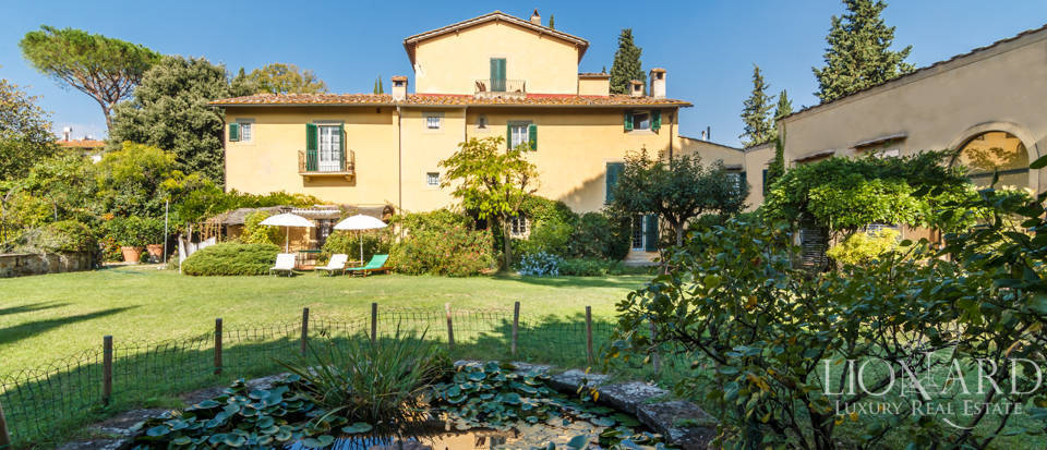 historical villa for sale in the poggio imperiale area