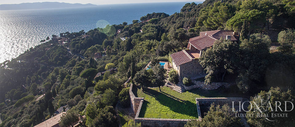 lovely villa for sale by mount argentario s sea