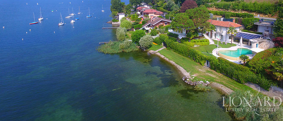 luxury property for sale by lake maggiore