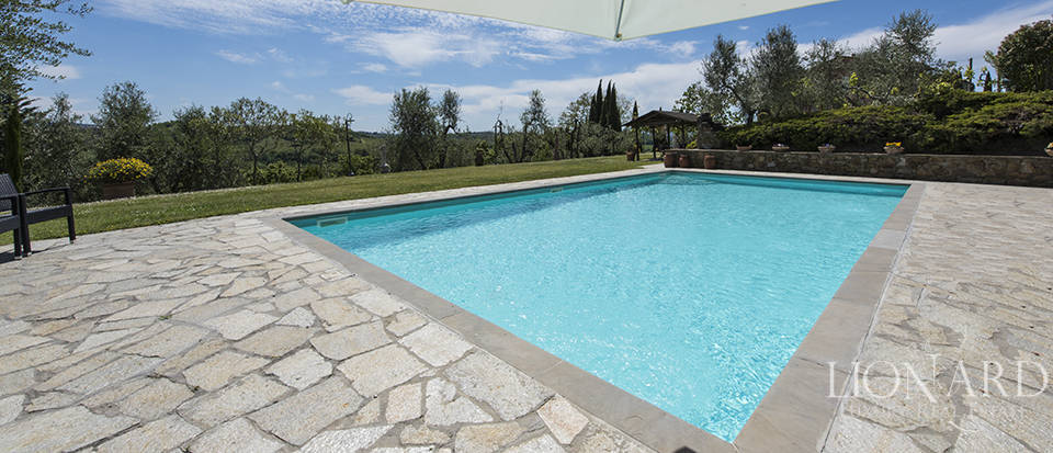 Luxury villa with swimming pool in Montespertoli Image 29