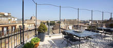 loft with a view over castel sant angelo in rome