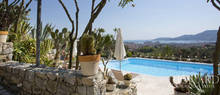 refined villa with pool on la spezia s hills
