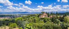 16th century villa on lastra a signa hills