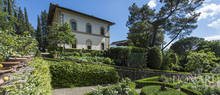 noble villa with swimming pool for sale in florence