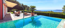 villa for sale with sea view in liguria