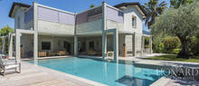 modern villa with swimming pool in forte dei marmi
