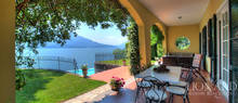 dream home with swimming pool by lake como