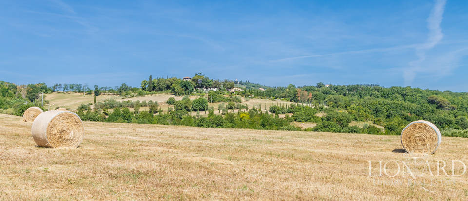 Refined farmstead for sale in Tuscany Image 50