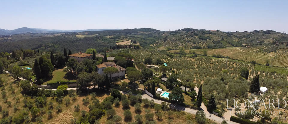 magnificent historical villa for sale in florence