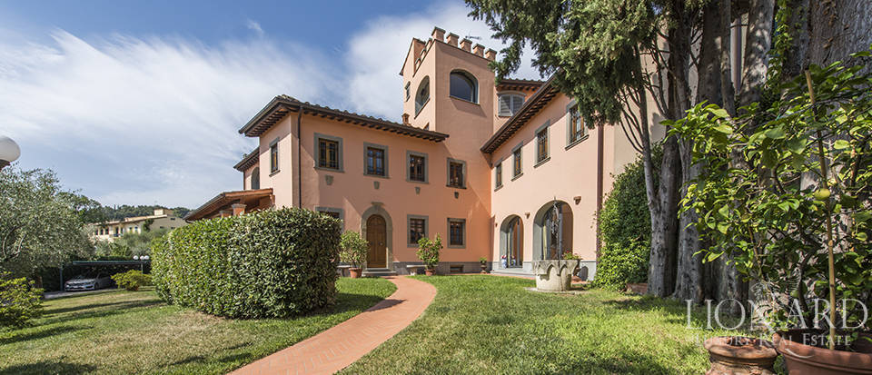 luxury villa for sale on florence's hills