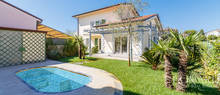 recently built luxury viilla in forte dei marmi