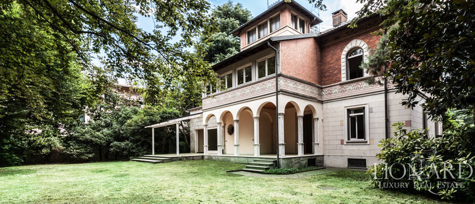 art-nouveau for sale at the outskirts of milan