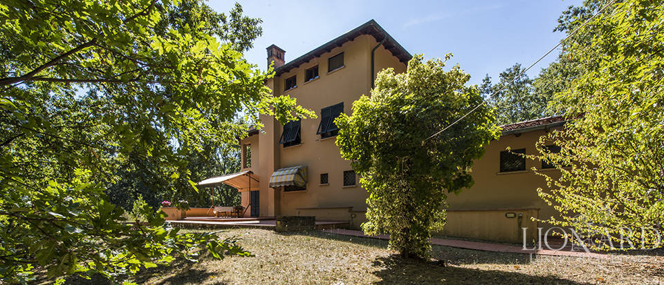 charming villa five minutes from lucca's town centre