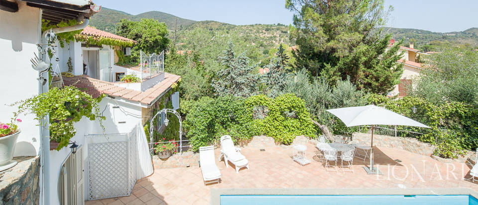 Dream villa with swimming pool for sale on Mount Argentario Image 62