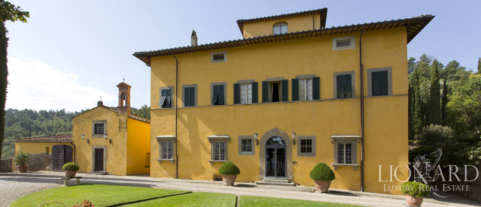 refined historical villa on arezzo's hills