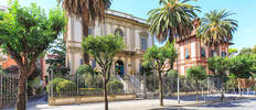 wonderful art nouveau villa for sale in chiavari